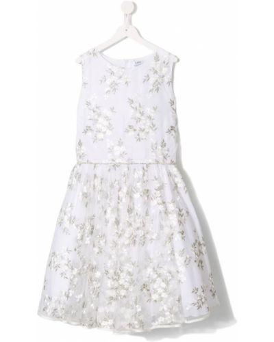 Платье с рукавами из фатина Lesy