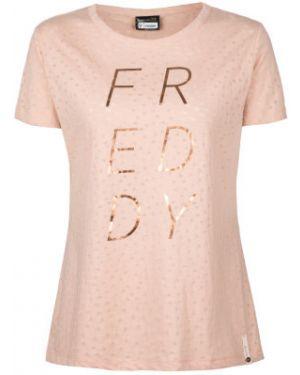 Футболка с принтом - розовая Freddy