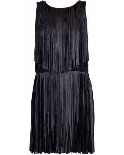 Платье с декольте с бахромой Sonia Rykiel