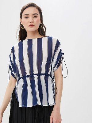 Блузка с коротким рукавом синяя весенний Sportmax Code