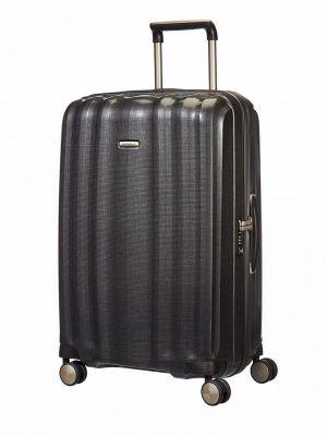 Серый зимний чемодан Samsonite