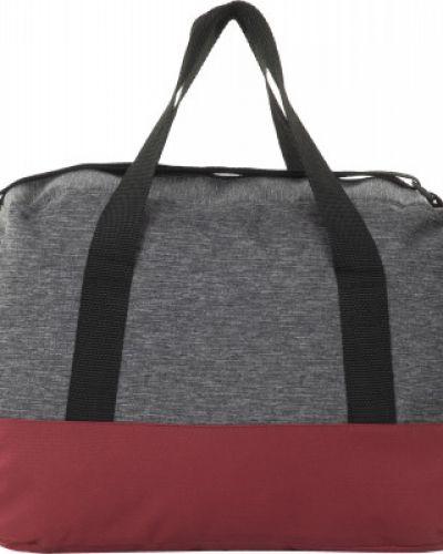 Тренировочная облегченная серая дорожная сумка Gsd