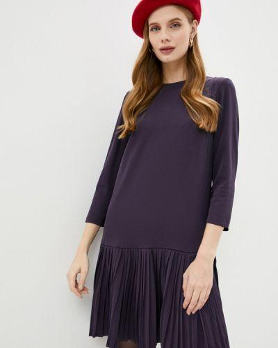 Фиолетовое прямое платье Incity