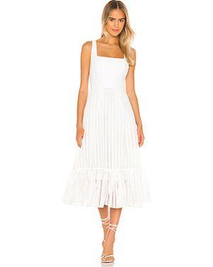 Платье миди из органзы на молнии Nbd