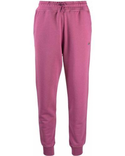 Розовые хлопковые брюки Vivienne Westwood