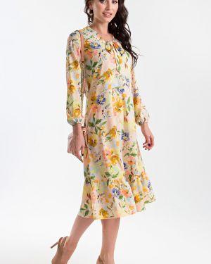 Платье с поясом платье-сарафан на резинке Taiga