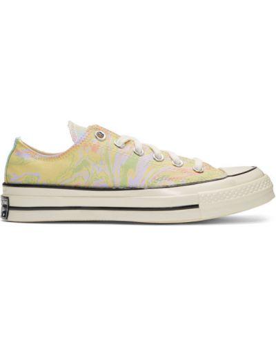 Sneakersy białe srebro Converse