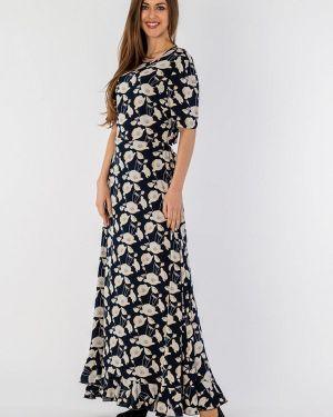 Платье макси синее S&a Style