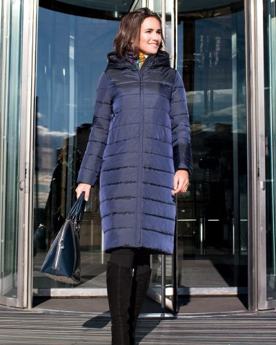 Зимнее пальто с капюшоном пальто J-splash