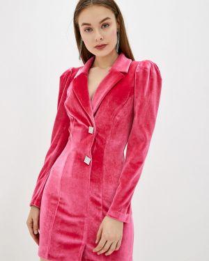 Платье розовое платье-пиджак River Island