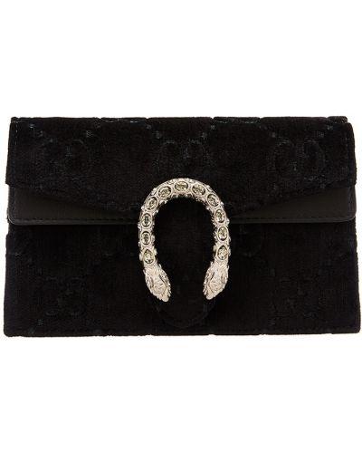 Маленькая сумка с узором со вставками Gucci