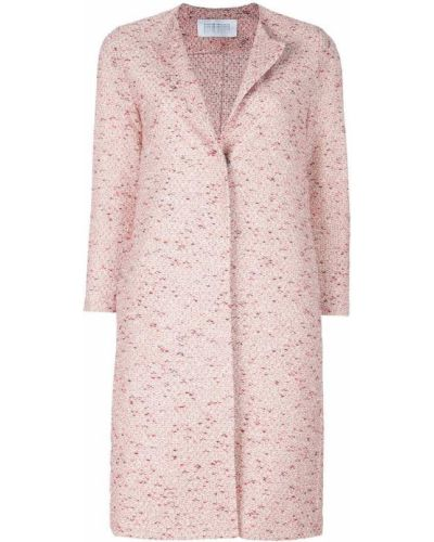 Укороченное пальто без воротника до колен Harris Wharf London