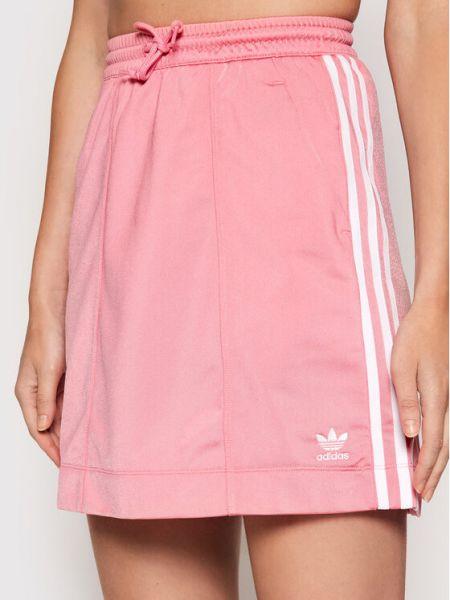 Spódniczka mini - różowa Adidas
