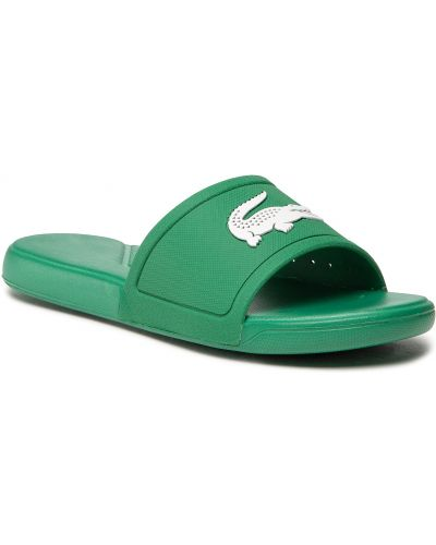 Zielone sandały Lacoste