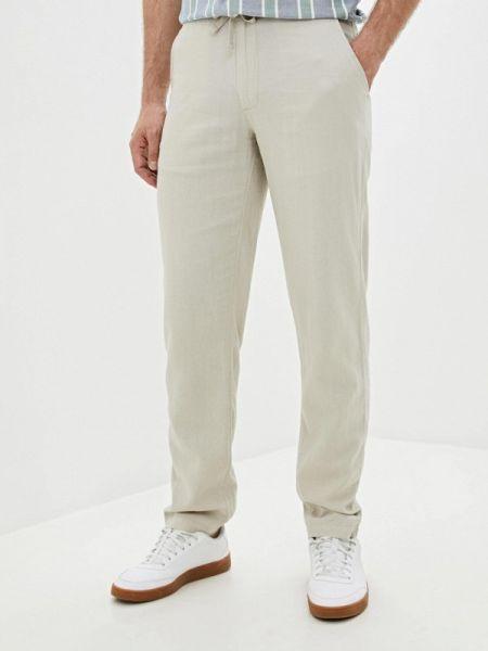 Бежевые брюки Marks & Spencer