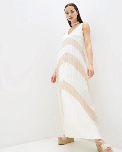 Прямое белое платье Love Republic
