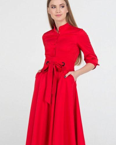 Платье миди - красное Viravi Wear