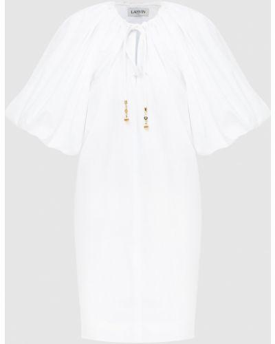 Платье миди - белое Lanvin
