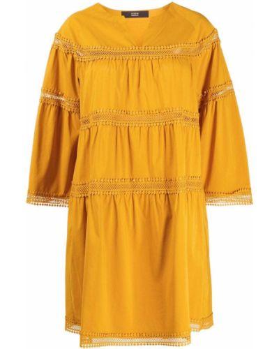 Платье трапеция - желтое Steffen Schraut