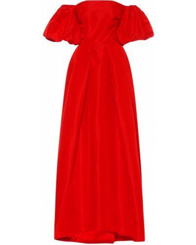Шелковое платье мини Monique Lhuillier