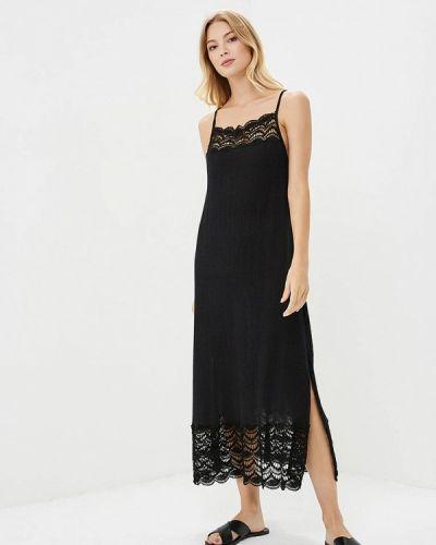 Черное платье осеннее Free People
