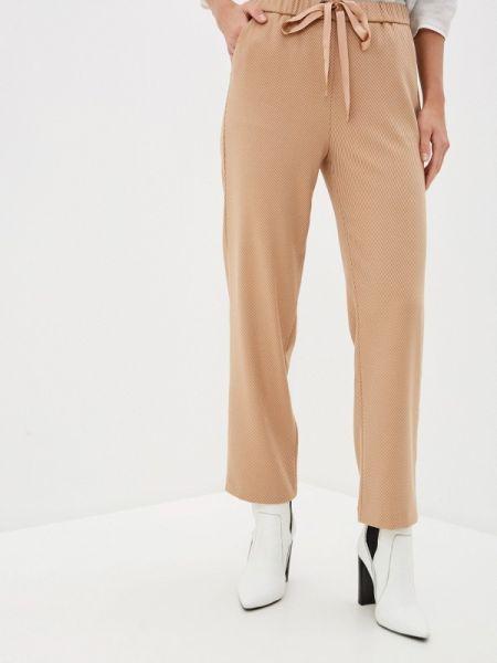 Бежевые брюки Sisley