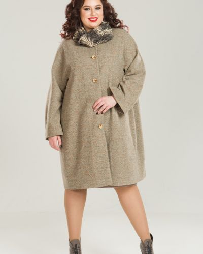 Пальто шерстяное с рукавом реглан Luxury