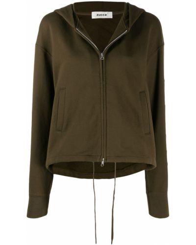 Куртка с капюшоном - зеленая Zucca