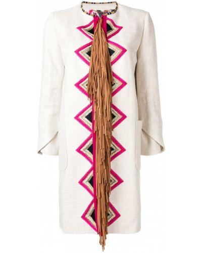 Пиджак с коротким рукавом бежевый Bazar Deluxe