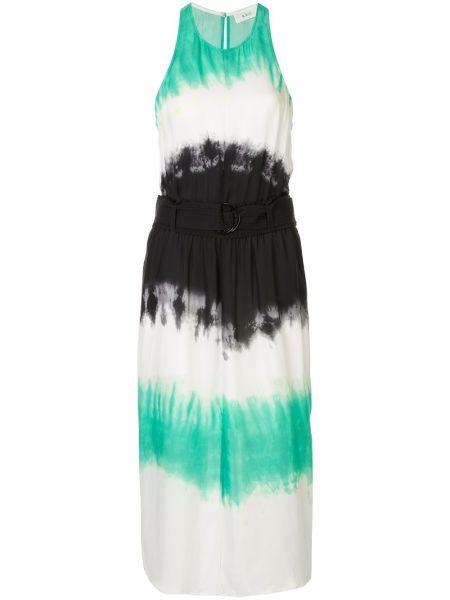 Платье с завышенной талией шелковое Alc