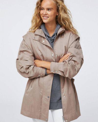 Утепленная куртка - бежевая Oysho