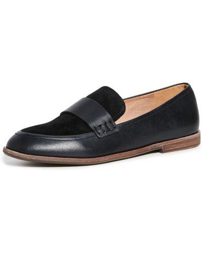 Loafers na obcasie - czarne Madewell