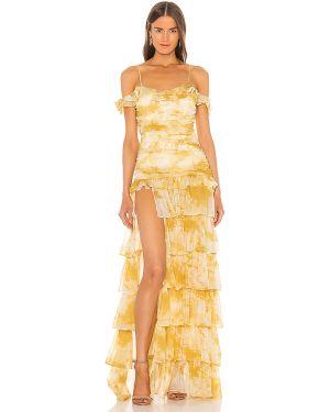 Sukienka z suwakiem z falbankami Atoir