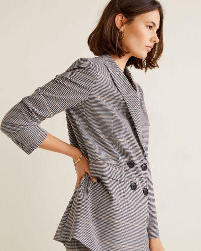 Классический пиджак с подкладкой из вискозы Mango