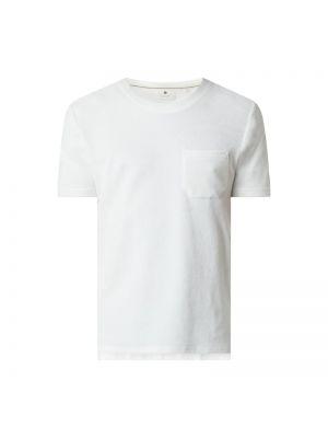 Beżowy t-shirt bawełniany Anerkjendt