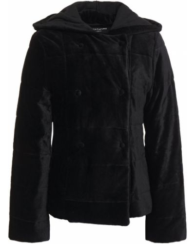 Ватная черная стеганая куртка Majestic Filatures