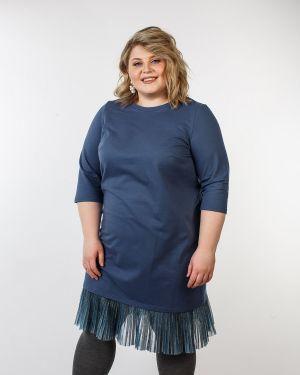 Платье миди плиссированное повседневное Jetti-plus