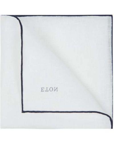 Niebieska poszetka Eton