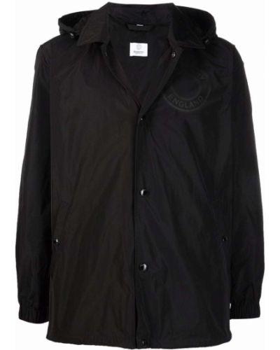 Czarna klasyczna kurtka Burberry