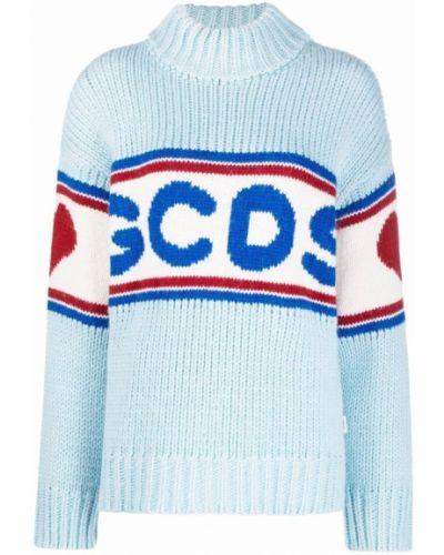 Niebieski sweter Gcds