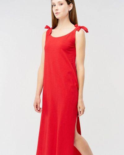 Красное повседневное платье Mascot