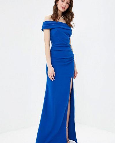 Вечернее платье синее City Goddess