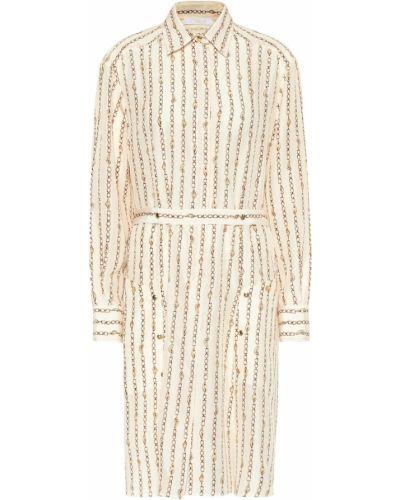 Платье винтажная из поплина Chloé