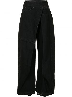 Черные брюки расклешенные Undercover