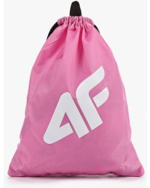 Розовый рюкзак 4f