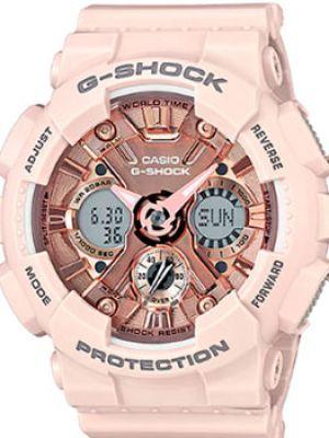 Кварцевые часы с подсветкой с круглым циферблатом Casio