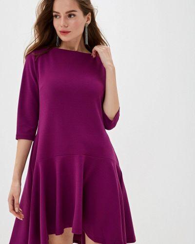 Платье розовое прямое Perfect J