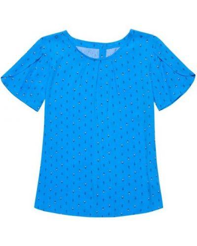 Блузка - синяя Moodo