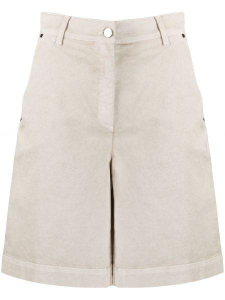 Хлопковые шорты с карманами на пуговицах D.exterior