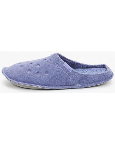 Текстильные домашние тапочки Crocs